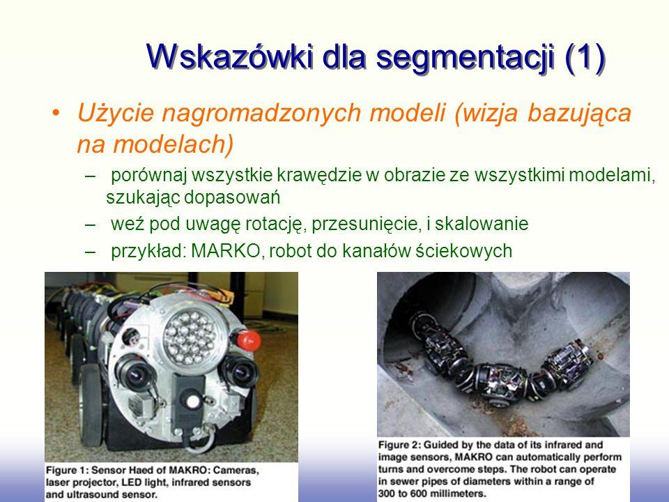 Wskazówki dla segmentacji (1)