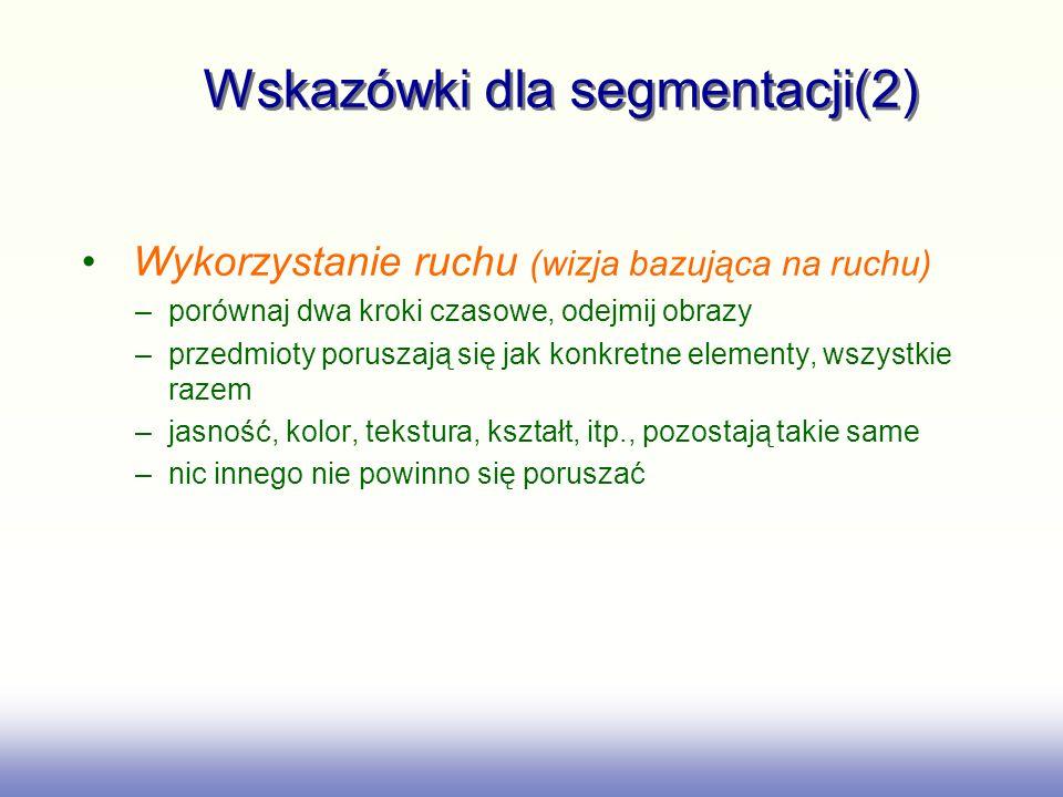 Wskazówki dla segmentacji(2)