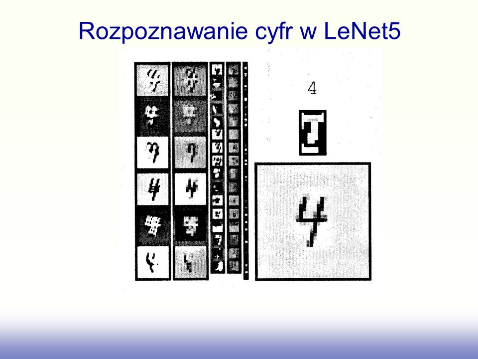 Rozpoznawanie cyfr w LeNet5