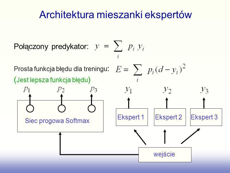 Architektura mieszanki ekspertów
