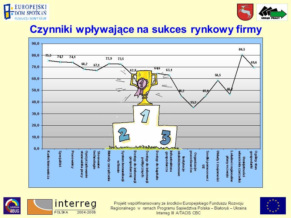 Czynniki wpływające na sukces rynkowy firmy