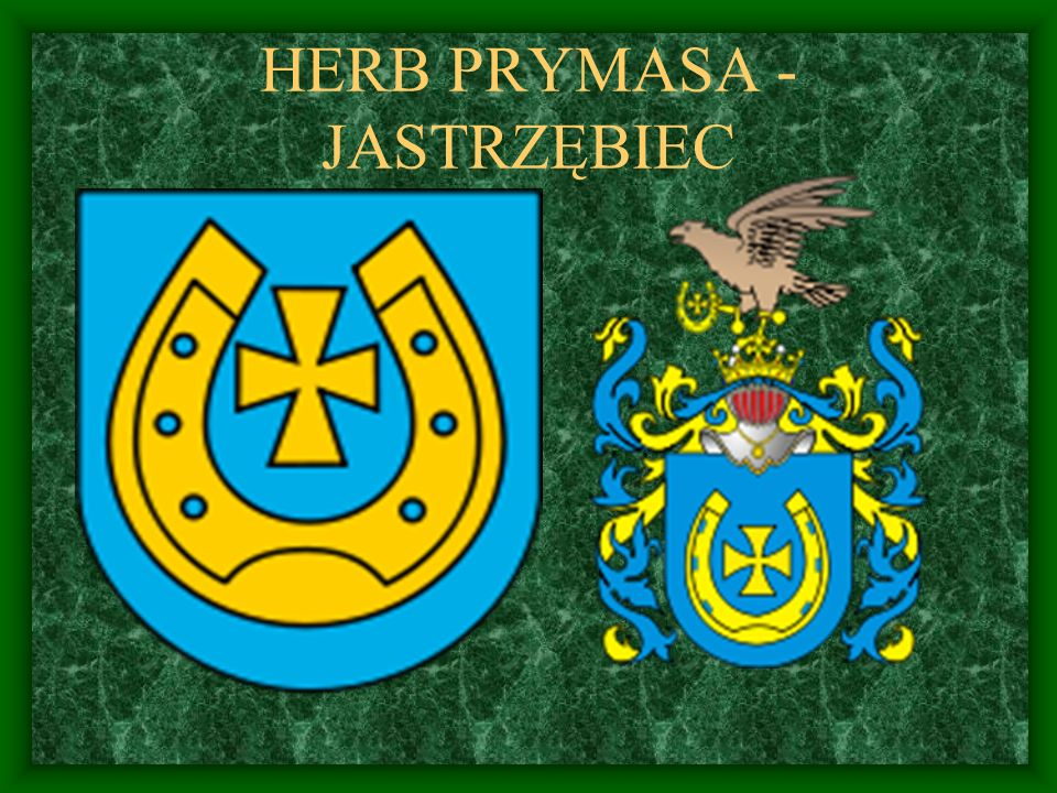 HERB PRYMASA - JASTRZĘBIEC