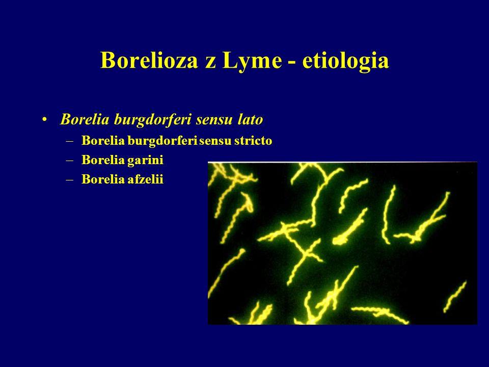 Borelioza z Lyme - etiologia