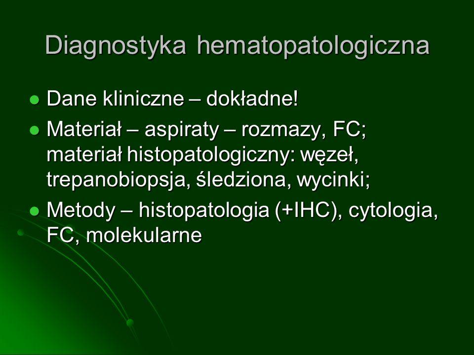 Diagnostyka hematopatologiczna