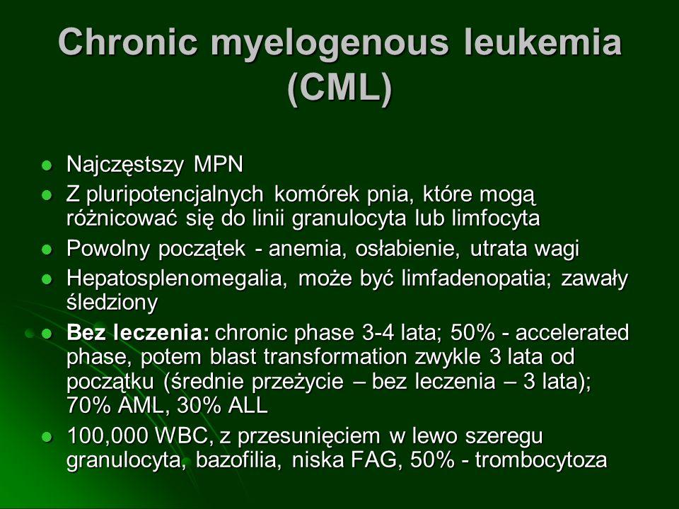 Chronic myelogenous leukemia (CML)