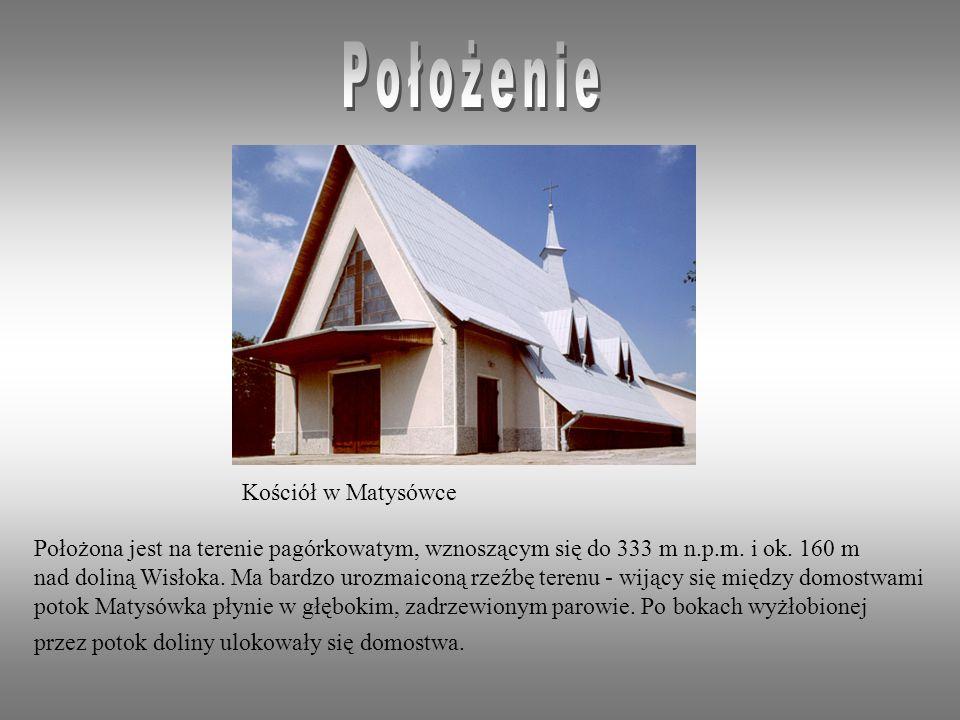 Położenie Kościół w Matysówce