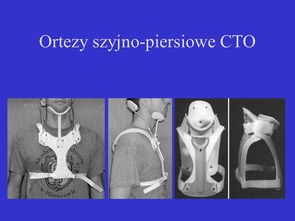Ortezy szyjno-piersiowe CTO