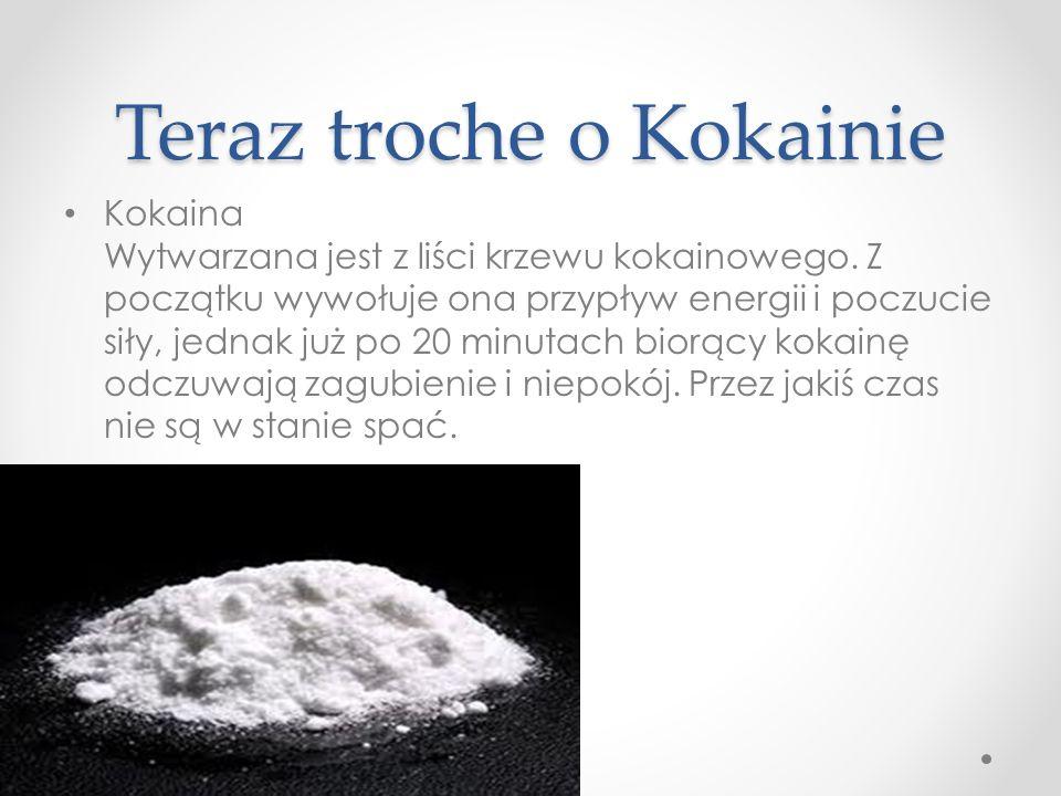 Teraz troche o Kokainie
