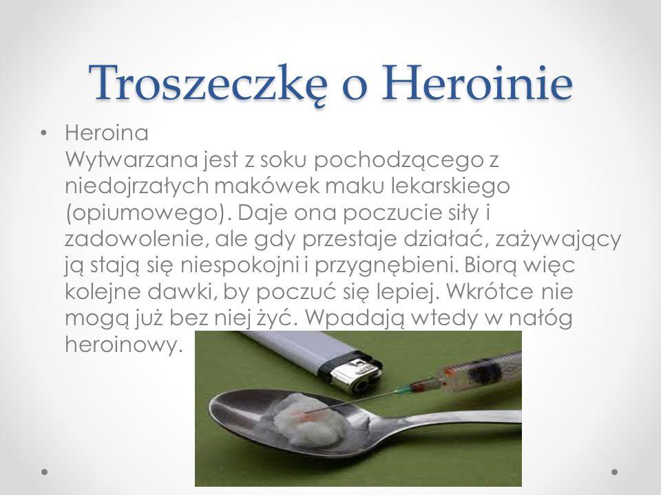 Troszeczkę o Heroinie