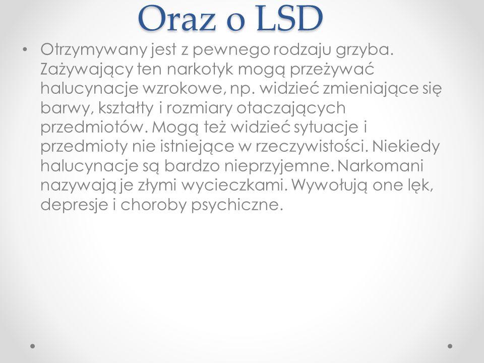 Oraz o LSD