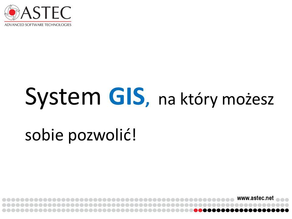 System GIS, na który możesz sobie pozwolić!