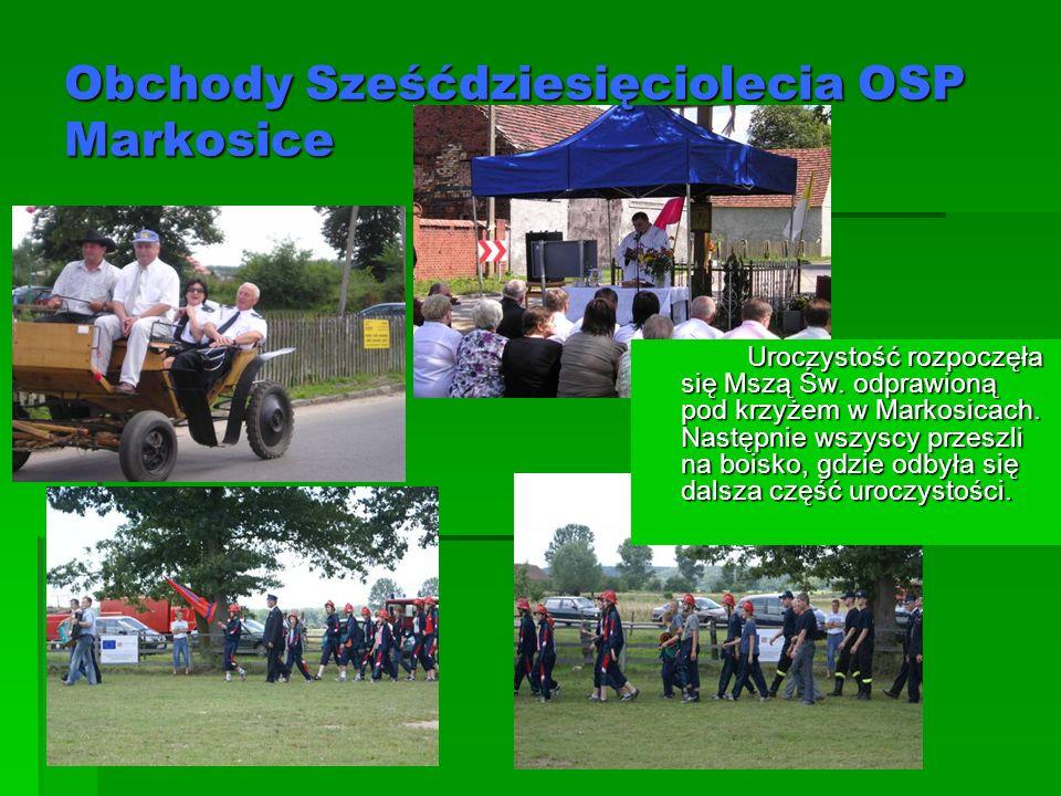 Obchody Sześćdziesięciolecia OSP Markosice