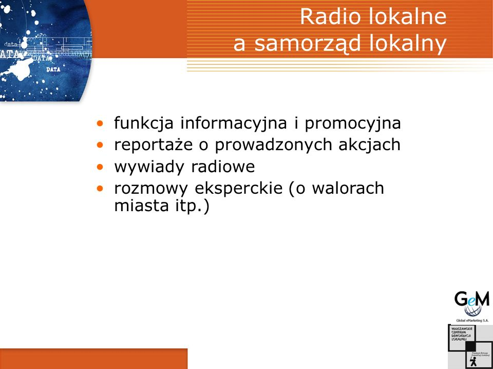 Radio lokalne a samorząd lokalny