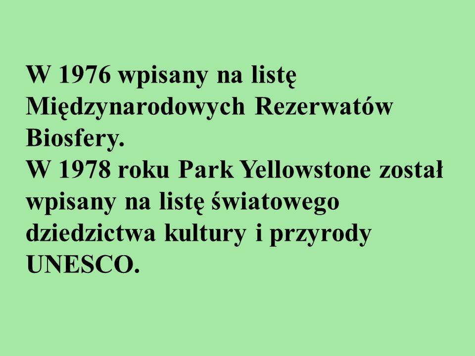 W 1976 wpisany na listę Międzynarodowych Rezerwatów Biosfery.