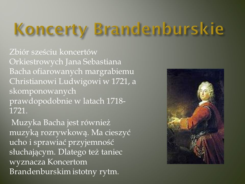 Koncerty Brandenburskie