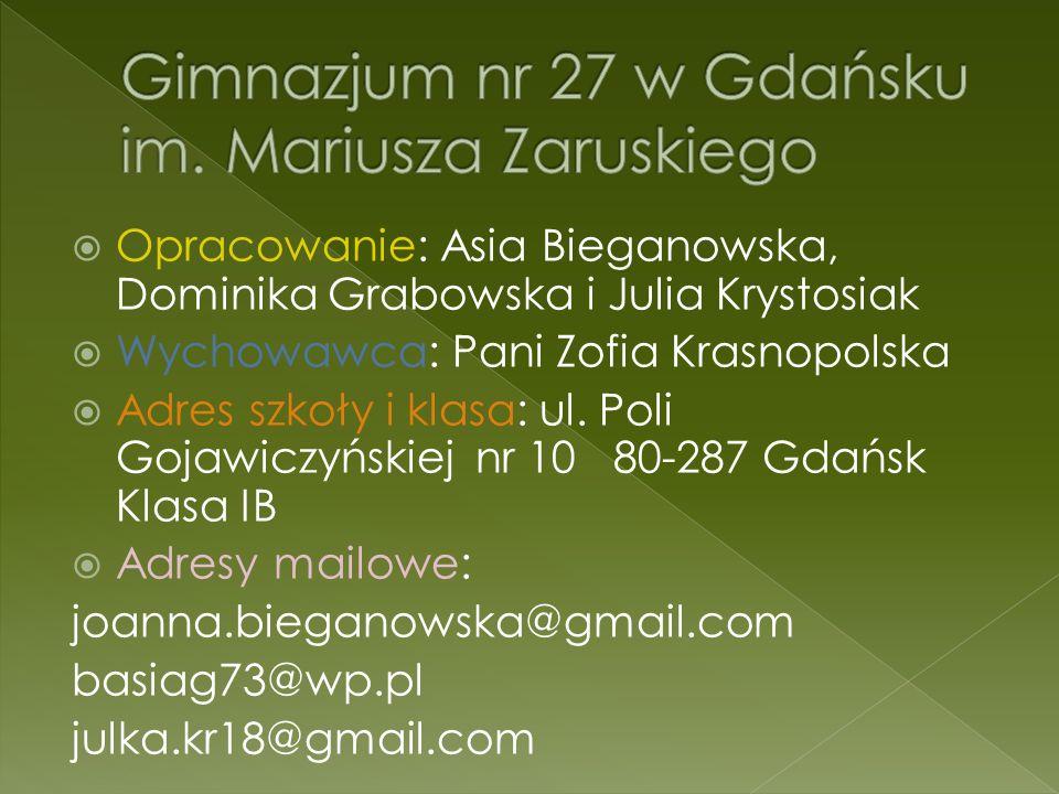Gimnazjum nr 27 w Gdańsku im. Mariusza Zaruskiego