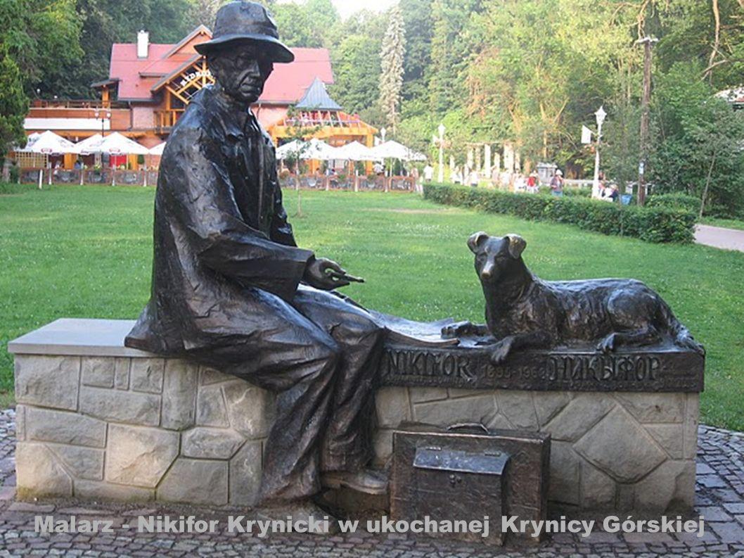 Malarz - Nikifor Krynicki w ukochanej Krynicy Górskiej