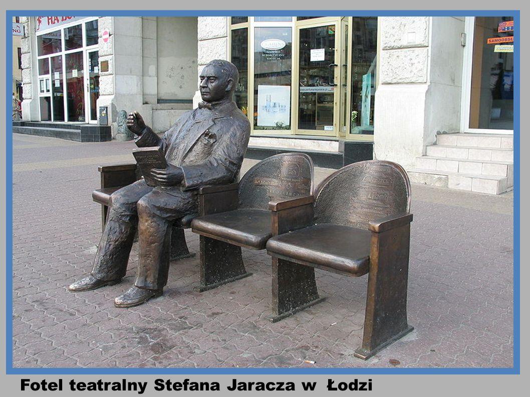 Fotel teatralny Stefana Jaracza w Łodzi