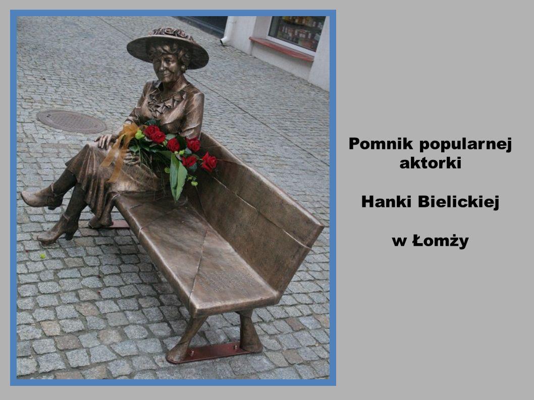 Pomnik popularnej aktorki