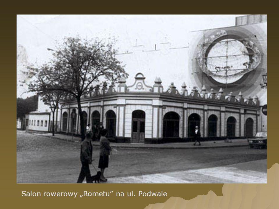 """Salon rowerowy """"Rometu na ul. Podwale"""