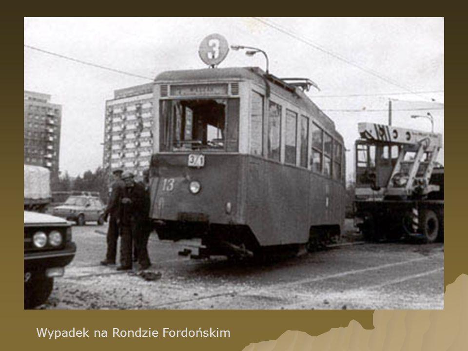 Wypadek na Rondzie Fordońskim