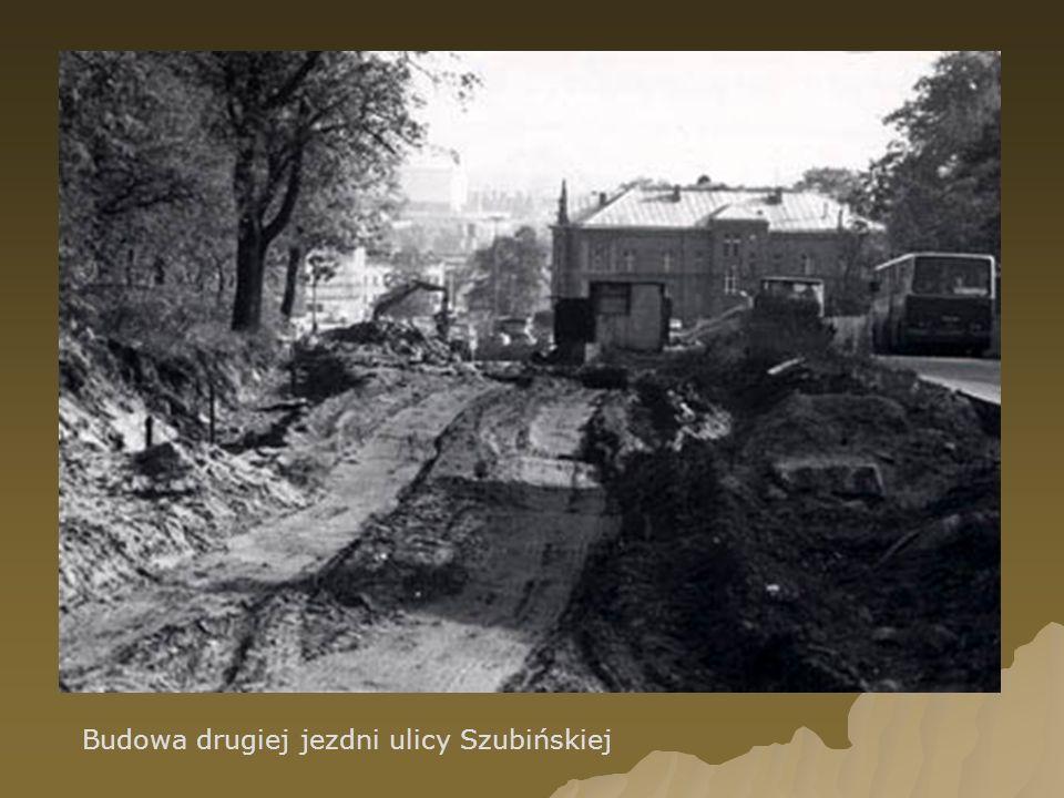 Budowa drugiej jezdni ulicy Szubińskiej