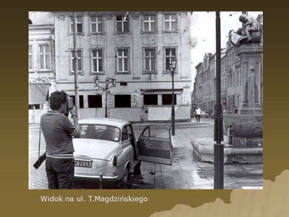 Widok na ul. T.Magdzińskiego