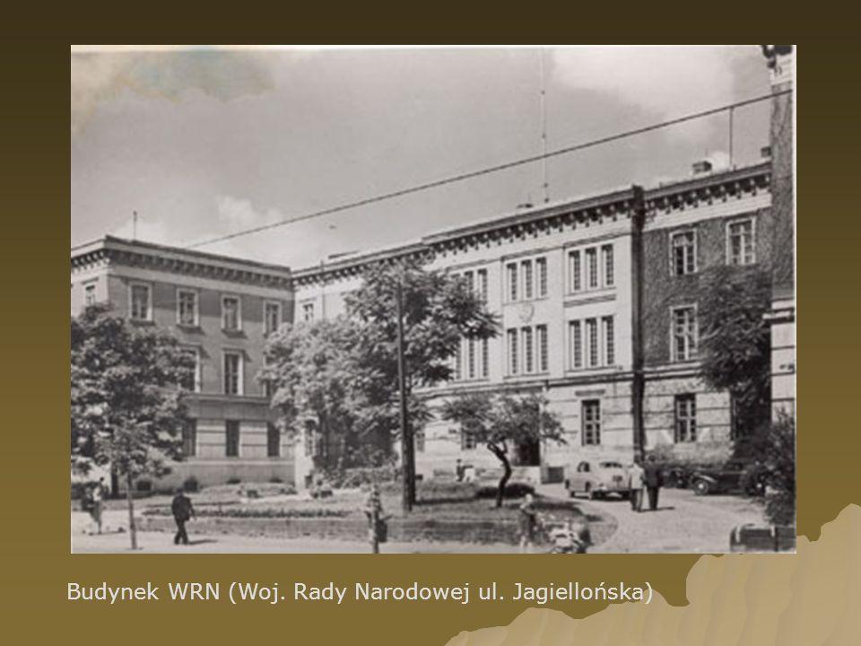 Budynek WRN (Woj. Rady Narodowej ul. Jagiellońska)