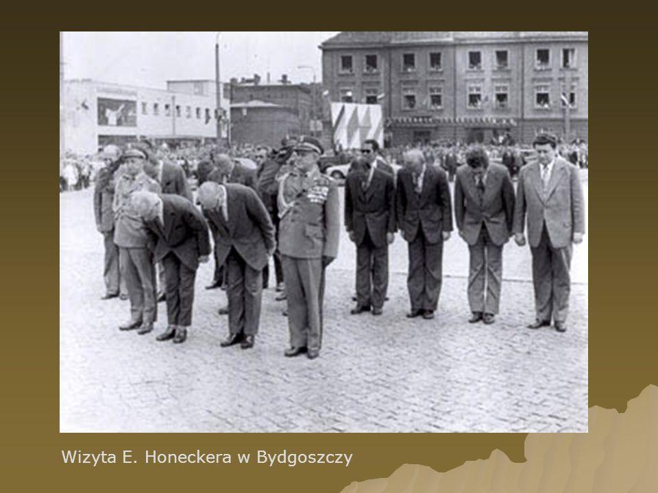 Wizyta E. Honeckera w Bydgoszczy