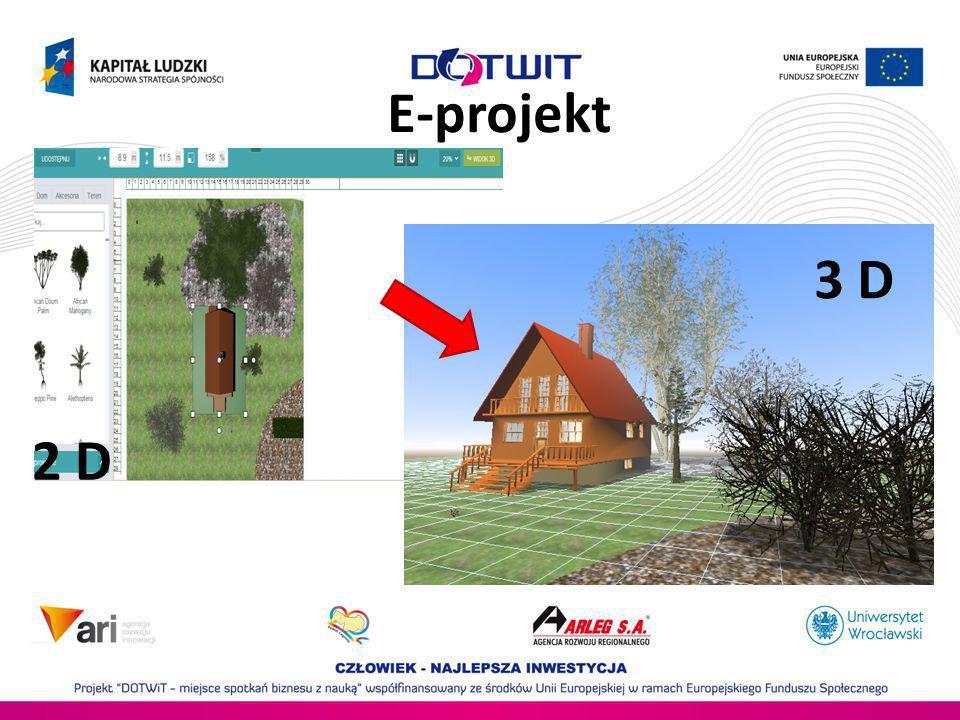 E-projekt 3 D 2 D