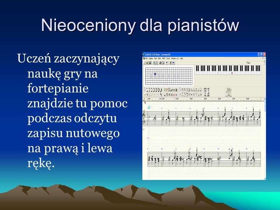 Nieoceniony dla pianistów
