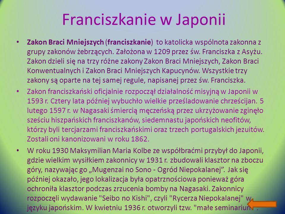 Franciszkanie w Japonii