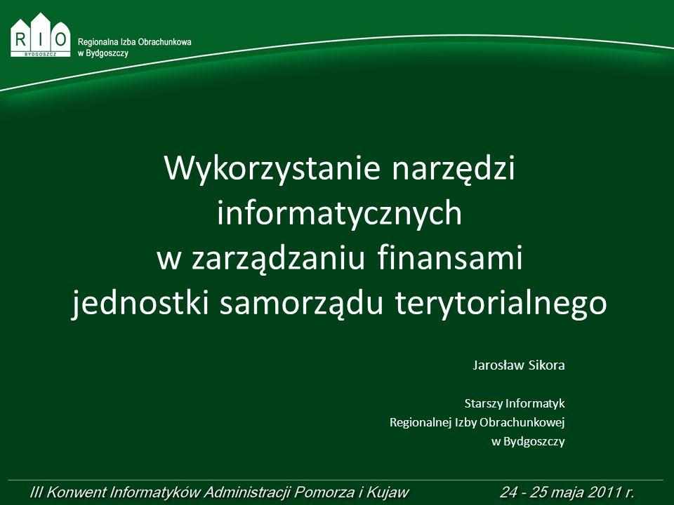 Wykorzystanie narzędzi informatycznych w zarządzaniu finansami jednostki samorządu terytorialnego