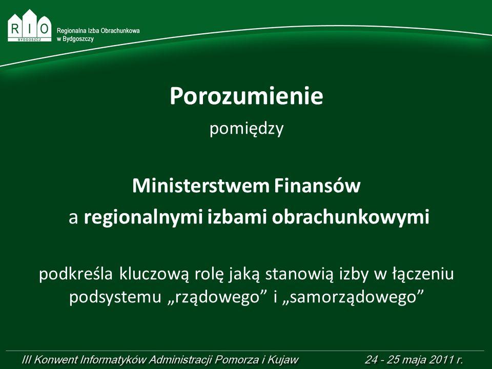 Ministerstwem Finansów
