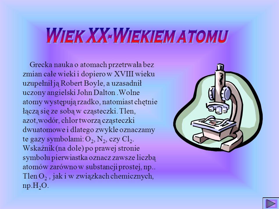 Wiek XX-Wiekiem atomu