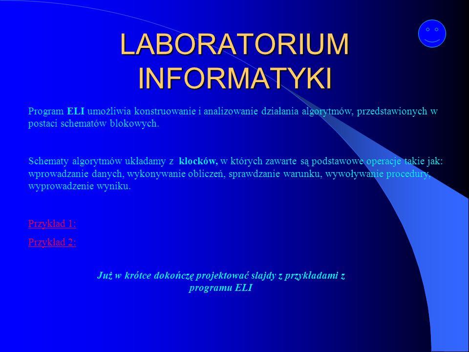 LABORATORIUM INFORMATYKI
