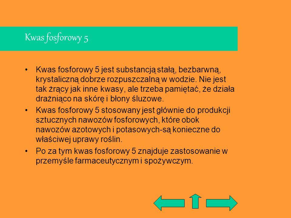Kwas fosforowy 5