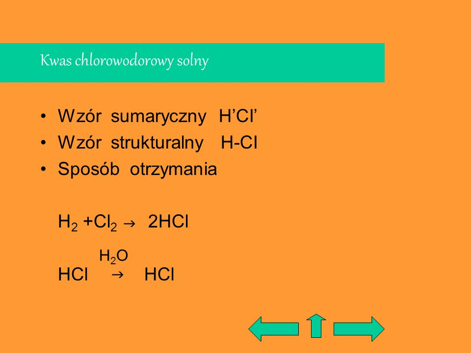 Kwas chlorowodorowy solny