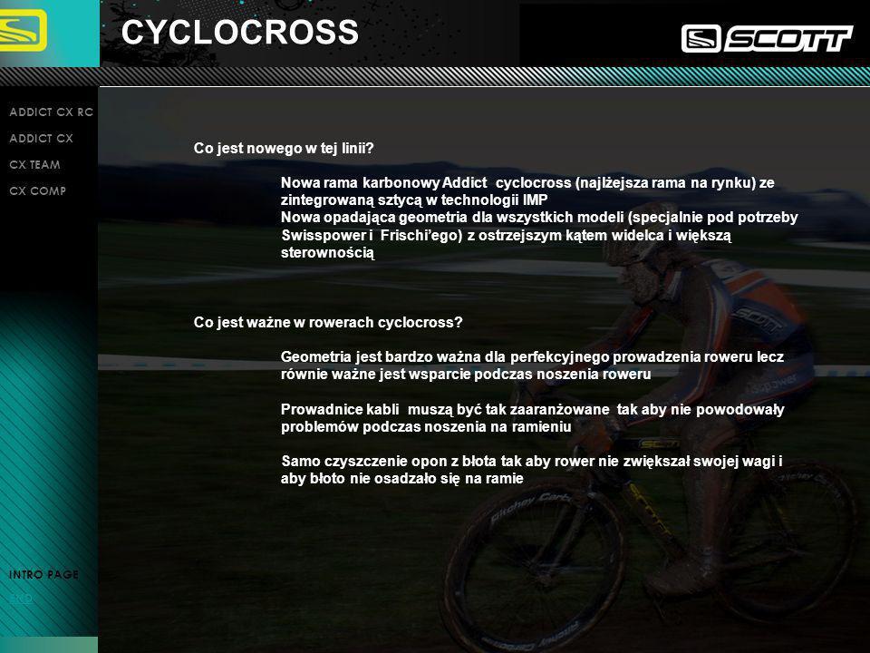 CYCLOCROSS Co jest nowego w tej linii