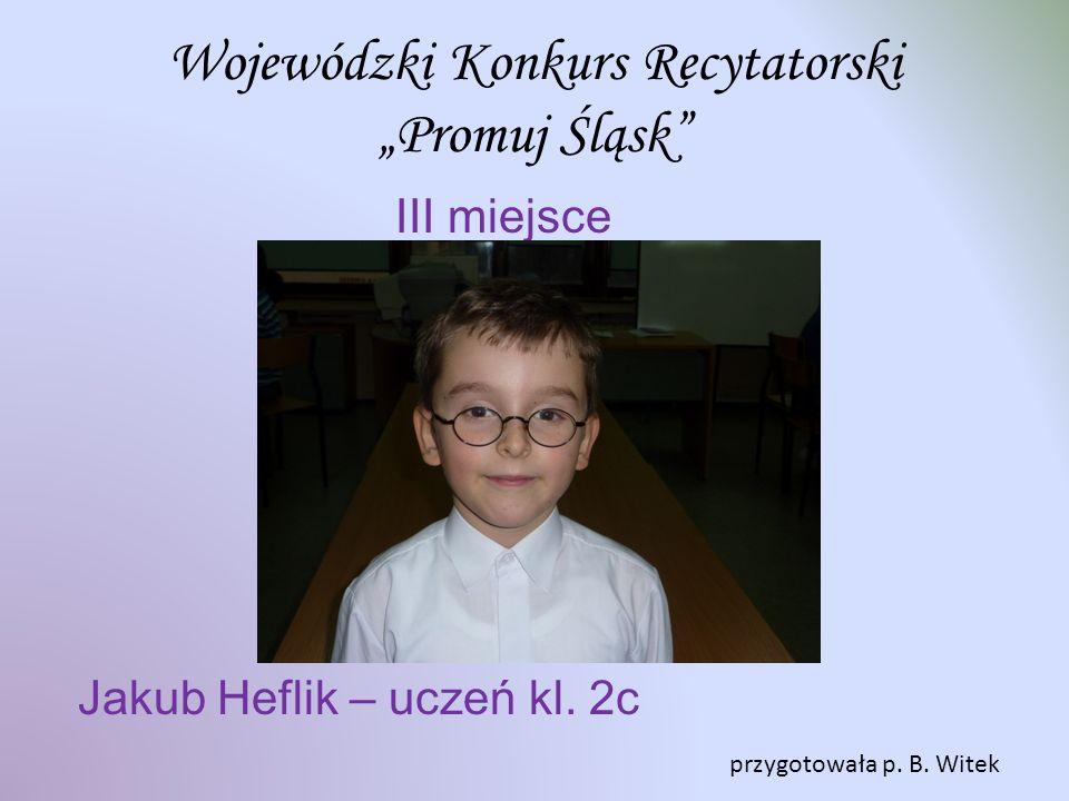 """Wojewódzki Konkurs Recytatorski """"Promuj Śląsk"""