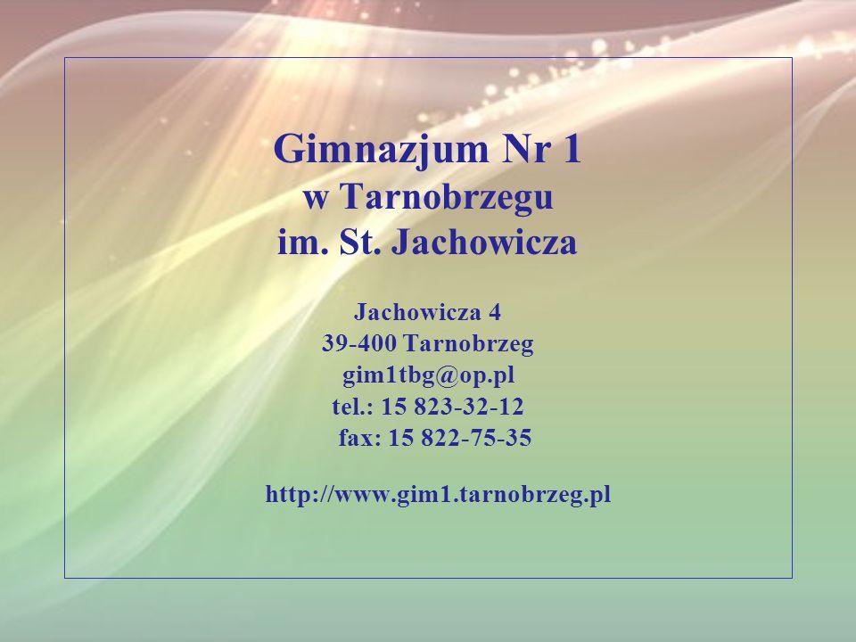 Gimnazjum Nr 1 w Tarnobrzegu im. St