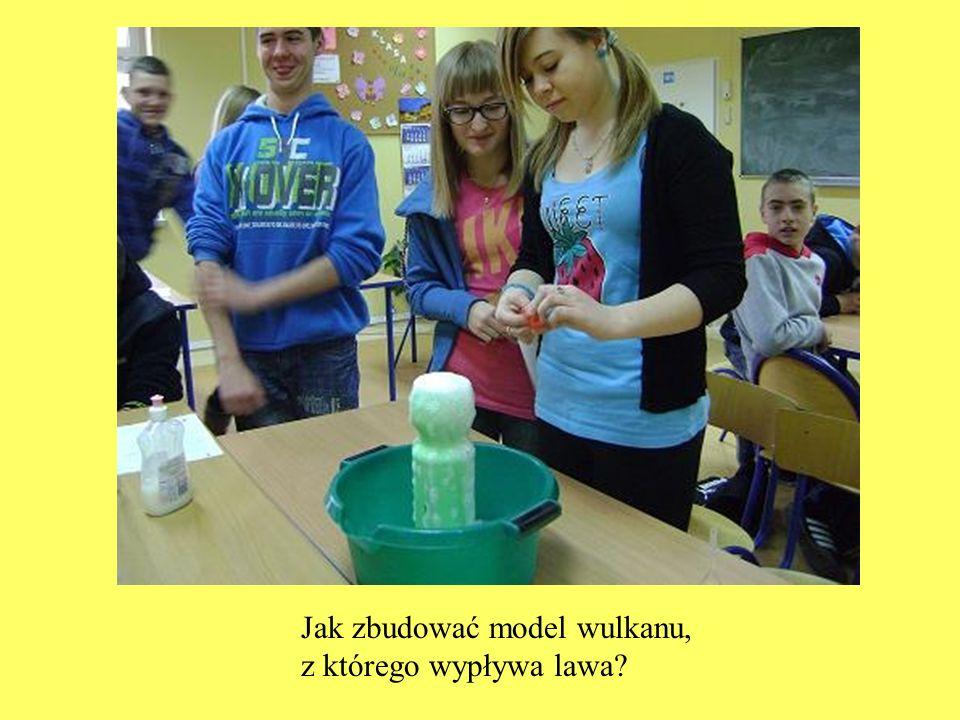 Jak zbudować model wulkanu,