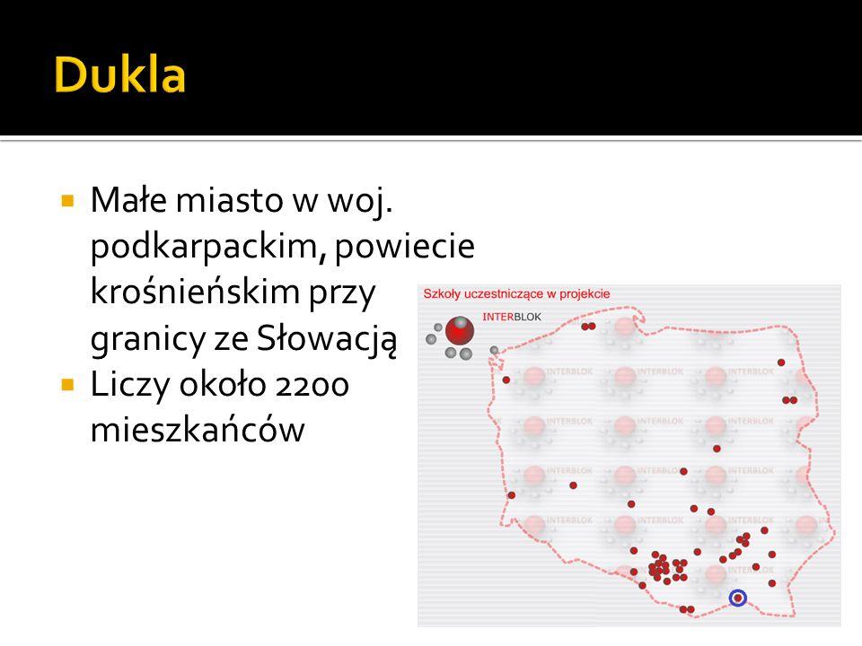 Dukla Małe miasto w woj. podkarpackim, powiecie krośnieńskim przy granicy ze Słowacją.