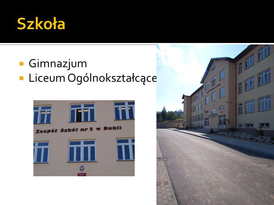 Szkoła Gimnazjum Liceum Ogólnokształcące