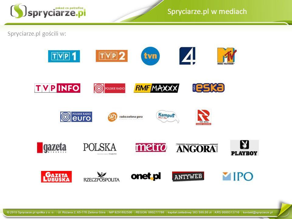 Spryciarze.pl w mediach
