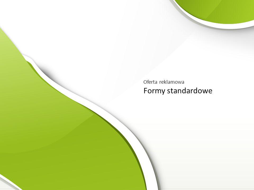 Oferta reklamowa Formy standardowe