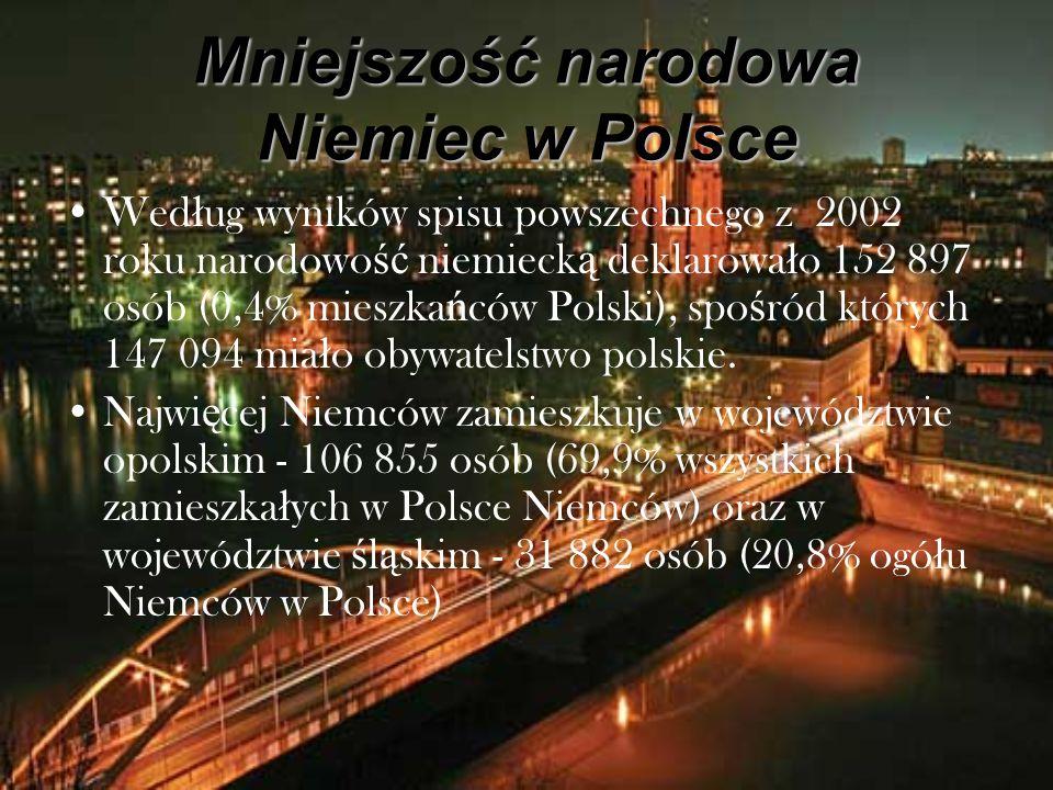 Mniejszość narodowa Niemiec w Polsce