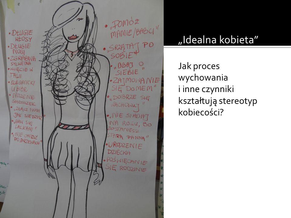 """""""Idealna kobieta JJ Jak proces wychowania"""