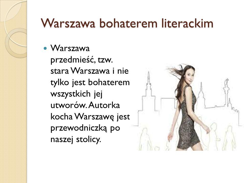 Warszawa bohaterem literackim