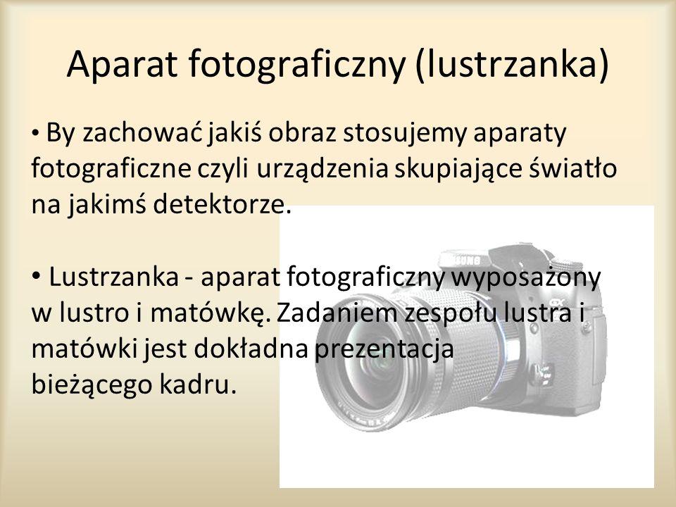 Aparat fotograficzny (lustrzanka)